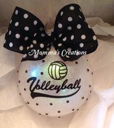 Items similar to Volleyball ornament, Christmas ornament, Christmas volleyball ornament, volleyball players on Etsy Volleyball Crafts, Volleyball Locker, Volleyball Party, Volleyball Players, Volleyball Ideas, Softball Gifts, Volleyball Signs, Volleyball Inspiration, Volleyball Photos