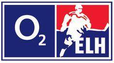 Extraliga ledního hokeje, ELH Primary Logo (2007) - ELH logo - from 2006-2010, O2 held the naming rights to the league and the league was refered to as the O2 Extraliga.