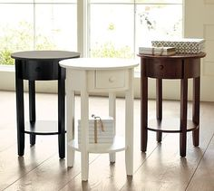 pottery barn bed tables