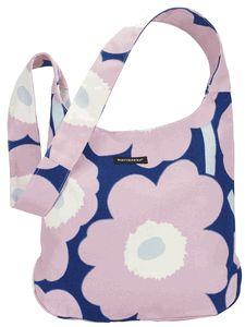 Marimekko Unikko Clover in blue and pink