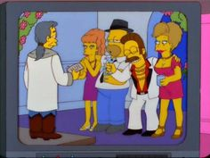 Homer And Ned's Vegas Wives
