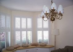 View a range of bay window shutters from Shuttersouth, Hampshire's leading shutter design and installation experts. Custom made bay shutters for all budgets Bay Window Shutters, Bay Windows, Shutter Designs, Southampton, Range, Curtains, Home Decor, Cookers, Blinds