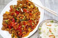 Kung pao tofu is cho