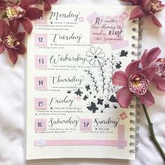 supercute page bullet journal ideas from http://ellastudyblr.tumblr.com