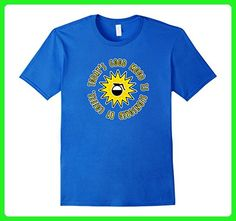 Mens Today's Good Mood Is Sponsored By Coffee T-Shirt 2XL Royal Blue - Food and drink shirts (*Amazon Partner-Link)