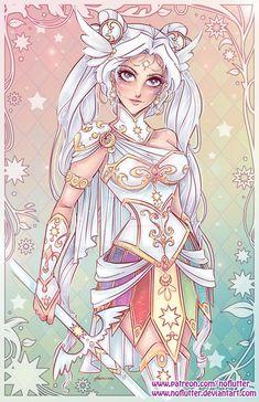 Sailor Moon Inner Warrior Scouts Fan Art
