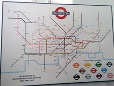 Another awesome London Underground themed wedding seating plan. (via https://twitter.com/Kirstyelow/status/328188105230282752/photo/1)