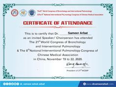 Congratulations World Association of Bronchology & Interventional Pulmonology-WABIP for a super successful 21st World Congress of Bronchology & Interventional Pulmonology. I am thankful to the organising team for inviting young clinicians like me to participate as faculty at the pinnacle event of Interventional Pulmonology. #interventionalpulmonology #wcbip2020 #drsameerarbat #india 🇮🇳 Work Profile, World Congress, Organising, Congratulations, 21st, Thankful, Medical, India, Reading