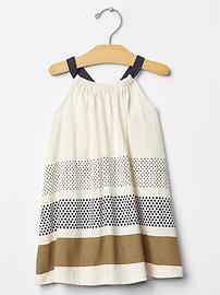 Gap Toddler Girl Printed halter dress