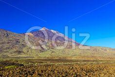 Qdiz Stock Images Teide Volcano Landscape on Tenerife,  #blue #Canary #island #landmark #landscape #mountain #national #natural #nature #park #peak #rock #sky #Spain #spring #summer #Teide #Tenerife #Travel #volcanic #volcano
