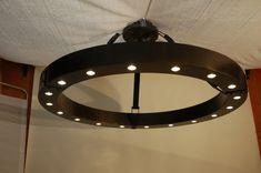 Custom made Hotel Lobby light fixture by Form & Reform