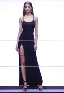 that long black dress for spring or summer.  day and night kind of deal ?