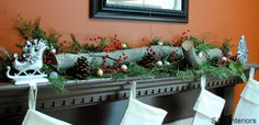 I know I said a couple of weeks ago that I wasn't in the Christmas Spirit, but now I finally am! Last weekend, after our bellies were stuffed with Turkey, we started transforming the house from the Fall / Thanksgiving decor over to Christmas. I'm not sure why I was so reluctant at first and ….