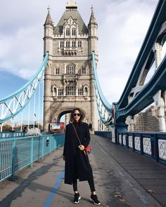 """Playing tourist in London. """