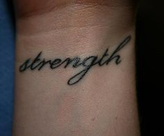 I'm not a big fan of tattoos but I'm slightly in love with meaningful wrist tattoos....