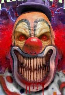 Evil Clown graphics and comments Clown Scare, Freaky Clowns, Gruseliger Clown, Insane Clown, Clown Mask, Circus Clown, Evil Clowns, Creepy Circus, Circus Party