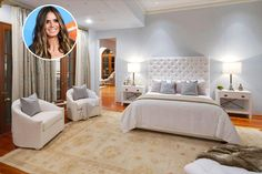 Sweet Dreams Are Made Of This? Astonishing Celebrity Bedrooms - Clearly They Didn't Save On Interior Designer - Page 4 of 63 - Psychic Monday Celebrity Bedrooms, Stylish Bedroom, Hollywood Celebrities, Sweet Dreams, Interior Design, Elegant, House, Furniture, Home Decor