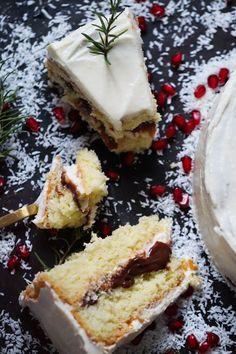 Luftig sukkerbrød med sjokolade og kremostglasur - Ida Gran Jansen Cheesecake, Cakes, Baking, Desserts, Food, Tailgate Desserts, Deserts, Cake Makers, Cheesecakes