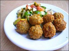 Falafel recipe- good but needs to refrigerate for 2 hours