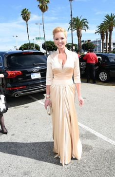 Actress Katherine Heigl attends the 66th Annual Primetime Emmy Awards held at the Nokia Theatre L.A. Live   Red Carpet Report Producer, jd on train to the 66th Primetime Emmy Awards  Before the Celebrities arriving at the 66th Emmy Awards hit the Red Carpet... #Chauffeur #Transportation #Audi #Photos #Emmys http://www.redcarpetreporttv.com/2014/08/26/before-the-celebrities-arriving-at-the-66th-emmy-awards-hit-the-red-carpet-chauffeur-transportation-audi-photos/