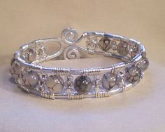 Freeform Cuff Bracelet   JewelryLessons.com
