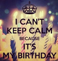 Its my bday! Im 32yrs old now...gettin old.lol