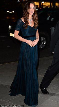 Kate Middleton em Evento de Angariação de Fundos na National Portrait Gallery