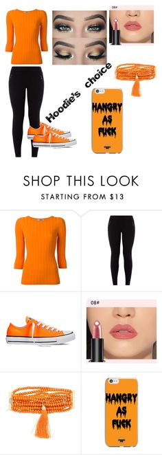 """""""Hoodie's choice"""" by bree70475 on Polyvore featuring Sportmax, New Look, Converse and Rosantica"""