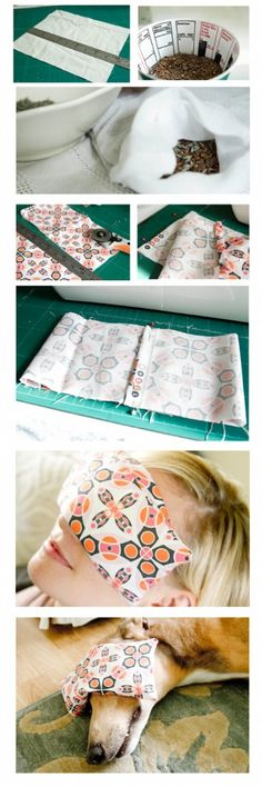 DIY Yoga Eye Pillow - 21 Creative DIY Birthday Gifts For Her