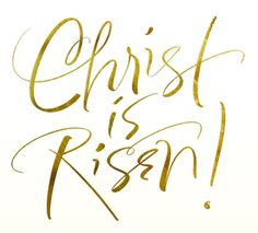 Happy Easter!! Christ is Risen!