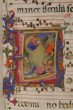 Conversione di san Paolo autore: Beato Angelico  tecnica: tempera e pennello