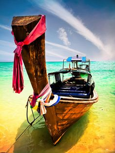 LongTail Boat in Phi Phi Island, Thailand