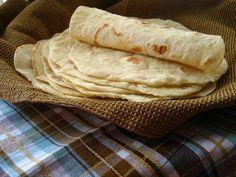 Massa de Pão Folha - Wrap | Pães e salgados > Receitas de Pão | Receitas Gshow