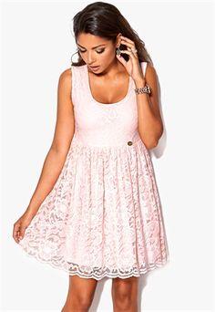Chiara Forthi Principessa Dress Vaalea pinkki