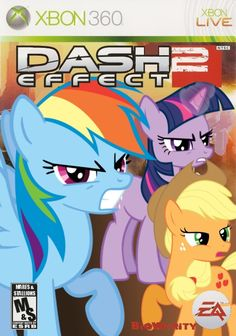 VIDEO GAMES REMADE FOR MY LITTLE PONY FANS