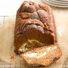 Try the Pumpkin Bread with Cream Cheese Swirl Recipe on williams-sonoma.com/