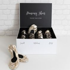 Dancing Shoes Boxed Set - Foldable Flats for Weddings and Events – I Do Details
