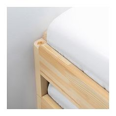 utaker stackable bed pine twin ikea bed stand spare bed simple