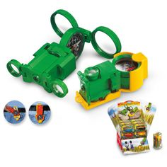 Optics Wonder Plus - the kids gadget combines a compass, a magnifying glass, a mirror, and binoculars.