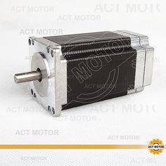 ACT Motor 1PC Nema23 Brushless DC Motor 57BLF03 24V 188W 3000RPM 3Phase Single Shaft CNC Router Kit Cut Mill Laser Plasma