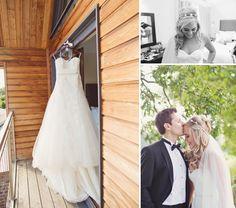 Gorgeous #EnzoaniRealBride Danielle in Dabra wedding dress