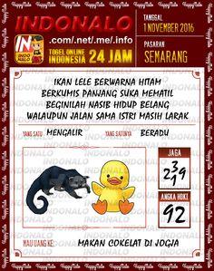 Lotre 3D Togel Wap Online Live Draw 4D Indonalo Semarang 1 November 2016