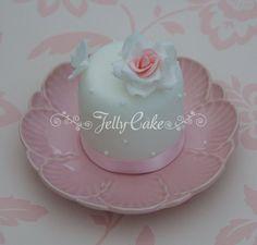 Mini Rose Cake | Cupcakes And Mini Cakes