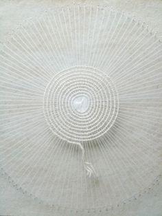 Day 103 string yarn weave unfinished circle nest 365 nest