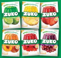 Línea de Gelatinas Zuko México #packaging