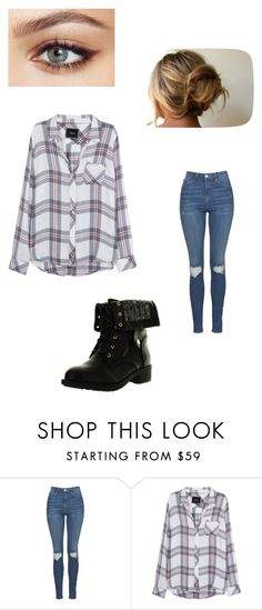 """""""First Kiss with Seijuro"""" by maryvarleyrox ❤ liked on Polyvore featuring Topshop, Rails and Refresh"""