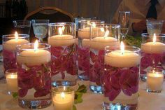 Learn more about cheap wedding backdrop Check the webpage to learn more. Cheap Table Decorations, Party Table Centerpieces, Glass Candle, Candle Wax, Candle Making, Ideas Party, Party Party, Beach Party, Party Dress