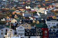 Anthology Magazine | Projects | The Faroe Islands: Look at white house on the right with a dormer of 4 windows