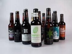 case of 12 british craft beers by best of british beer   notonthehighstreet.com