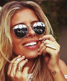 10bdc92059 LeonLion 2019 Sunglasses Women/Men Brand Designer Glasses Lady Round Luxury  Retro Sun Glasses Vintage Mirror Oculos De Sol Gafas